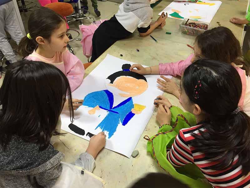 Elit Çocuk Kulübü Görsel Sanatlar